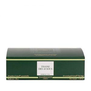 Biljni čaj Tisane des 40 sous