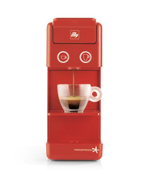 Aparat za kavu crveni
