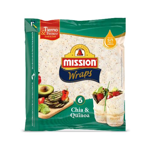 Mission Chia_Quinoa tortilje