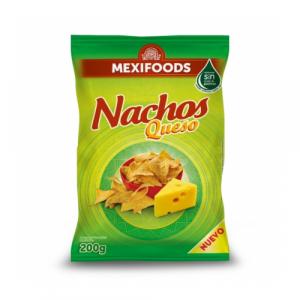 Nachosi s okusom sira brenda Mexifoods. Savršeni ukusni snack.