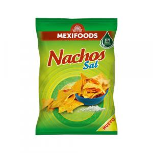 Slani nachos čips brenda Mexifoods. Ukusna slana grickalica.