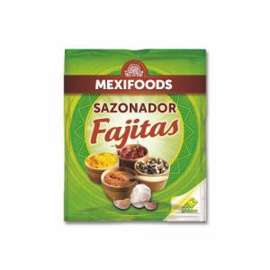 Mješavina začina Fajitas za pripremu ukusnog jela Fajita s tortiljama.