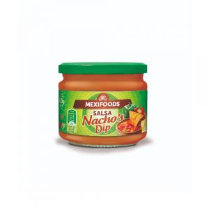 Crveni salsa umak brenda Mexifoods za nachose ili kao umak za tortilje.