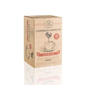 Kava Diemme nespresso kompatibilne kapsule CORPO