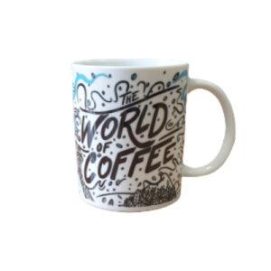 Diemme mug šalica World Coffee